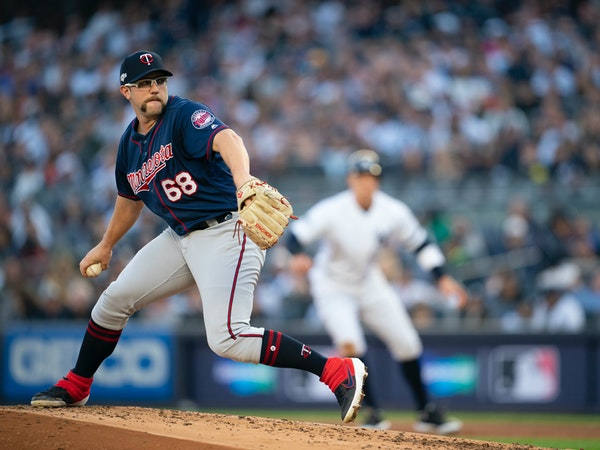Twins 'opener' Randy Dobnak started ALDS Game 2 against the Yankees.