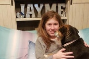A photo of Jayme Closs posted last January to Facebook by her aunt Jennifer Smith.