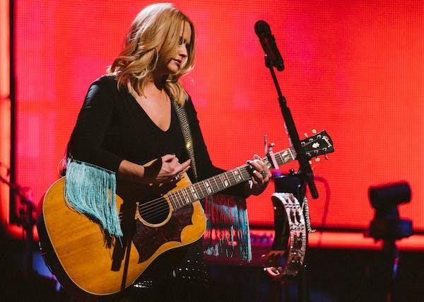 Miranda Lambert performing in Orlando earlier this year.