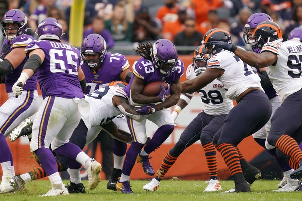 Running game runs Vikings into all kinds of trouble in Bears loss