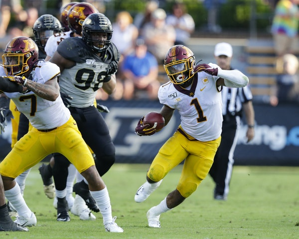 Smith keeps grinding as Gophers run game finds its footing