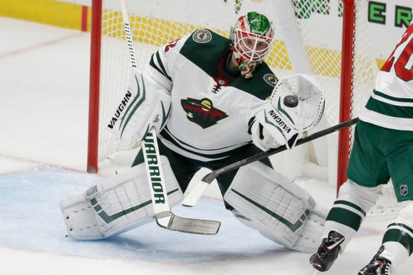 Alex Stalock made 29 saves to help the Wild rally to beat the Ducks 4-2 on Tuesday night.