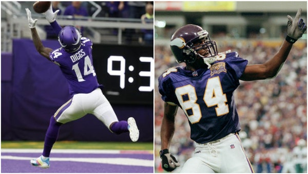 Big plays are driving the Vikings offense when it has success this season.