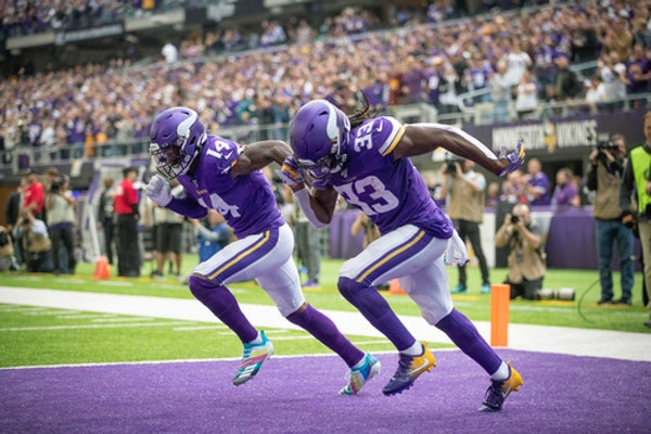 Maybe the Vikings' second-half road slate isn't as tough as advertised