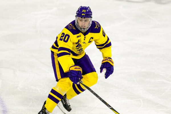 Senior forward Marc Michaelis led Minnesota State in scoring last season with 19 goals and 23 assists for 42 points. He has 51 goals and 66 assists in