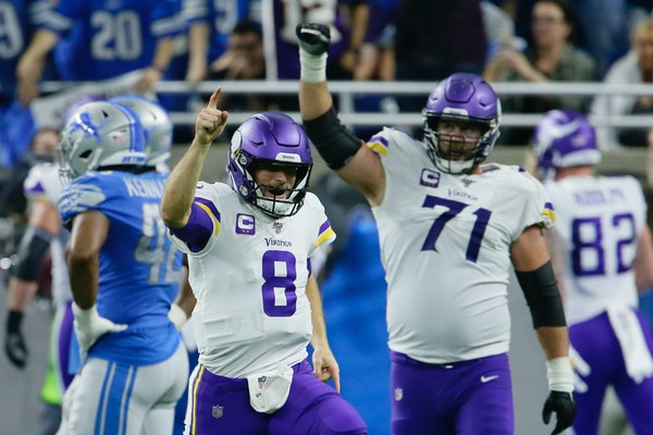 Podcast: Cousins, Keenum, Peterson and a game of intrigue