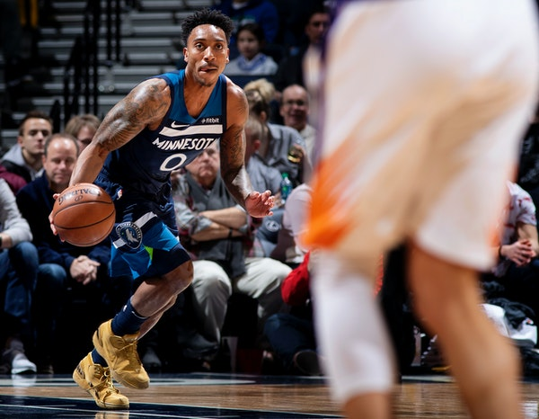 Timberwolves point guard Jeff Teague won't be running a play every time down the floor this season. The team doesn't want to become predicable as they