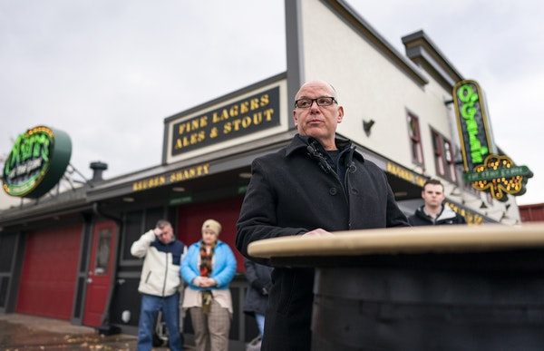 Dan O'Gara, owner of St. Paul's O'Gara's Bar & Grill, held a press conference to talk about his decision to not reopen the original O'Gara's locat