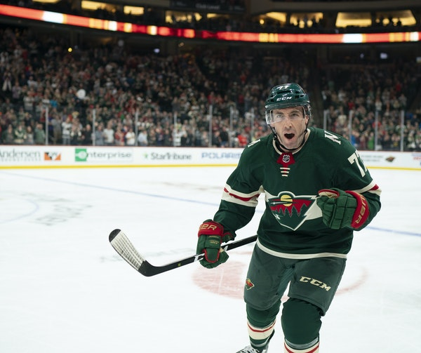 With three goals and five points, the Wild's Brad Hunt is tied with fellow defenseman Ryan Suter as the team's leading scorer, and he is tied with J