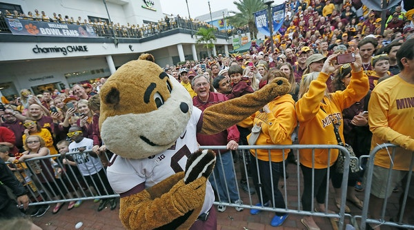 The Gophers spent more than $1.7 million to send their contingent, including Goldy Gopher, to the Citrus Bowl last January. Thanks to Big Ten subsidie