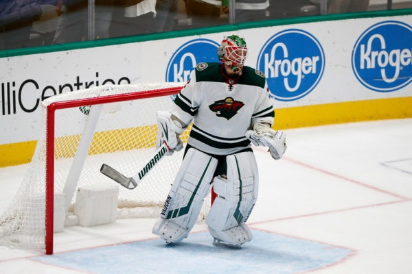 Stalock gets another start in goal tonight after success at Anaheim
