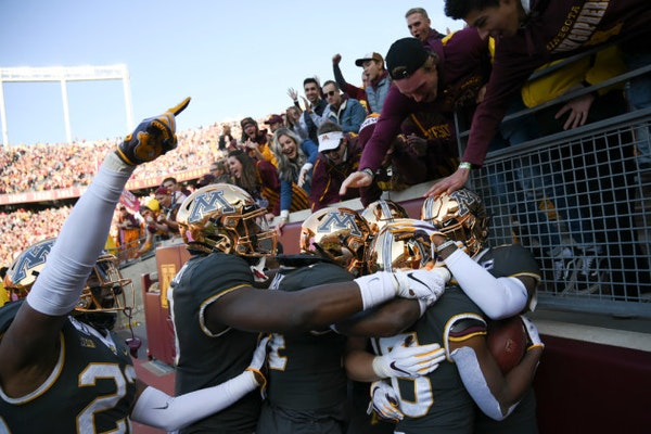 Gophers-Penn State game not sold out, but trending 'in right direction'