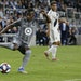 Minnesota United midfielder Darwin Quintero came in as a second-half subsitute in the Loons' first-round playoff game loss against LA Galaxy on Oct.