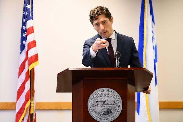 Minneapolis Mayor Jacob Frey.