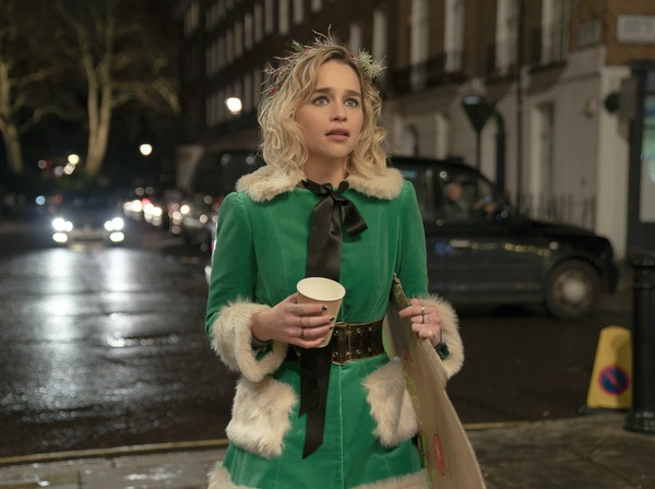 Emilia Clarke plays a Christmas-store elf whose life is a bit of a mess.