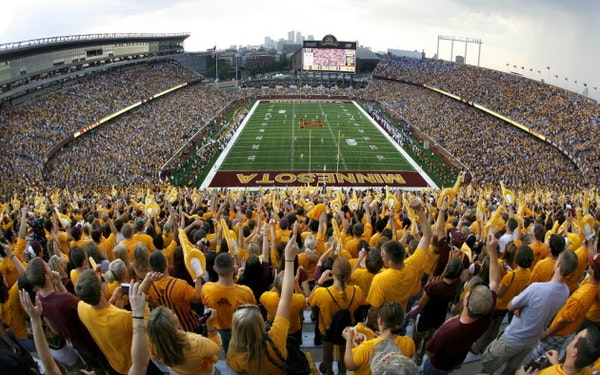 Gophers achieve first sellout since 2015 for Saturday's game against Penn State