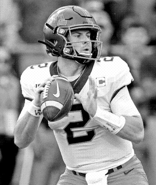 Minnesota quarterback Tanner Morgan (2) throws against Purdue during the first half of an NCAA college football game in West Lafayette, Ind., Saturday