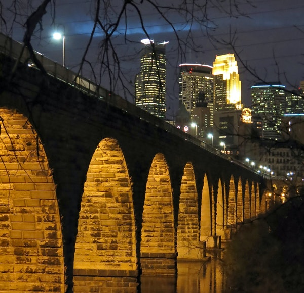 The Stone Arch bridge, Minneapolis, MN ] twallace@startribune.com this is a test_2013 • someplace in time we will fix this problem_tom wallace/s