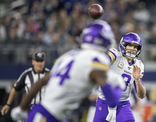 Cousins checks off all of the boxes during extended run of strong play