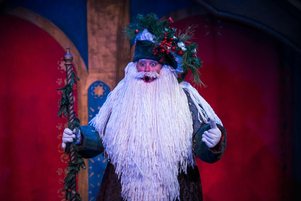 """Open Eye Figure Theatre's """"Holiday Pageant."""""""