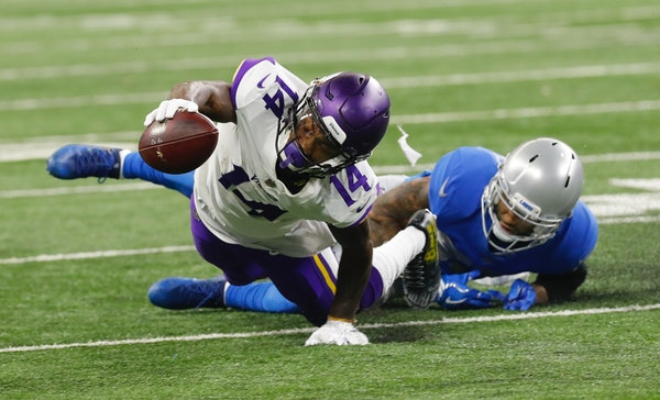 Vikings expect Lions to try clamping down on Stefon Diggs, Adam Thielen