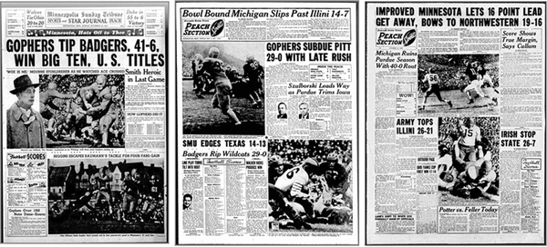 Throwback mode: The Peach returns for big Gophers-Penn State game