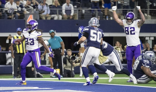 Podcast: Vikings make statement in prime-time win over Cowboys
