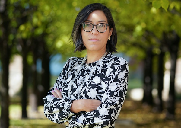 Lola Velazquez-Aguilu leads the Judicial Selection Commission, which guides Gov. Tim Walz.