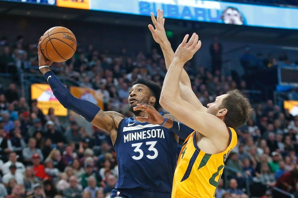 Timberwolves forward Robert Covington is set to return from a one-game absence for personal reasons in Monday's game against the Hawks.
