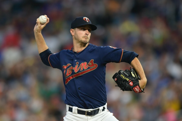 Jake Odorizzi is coming off his best major league season, winning 15 games for the Twins in 2019.