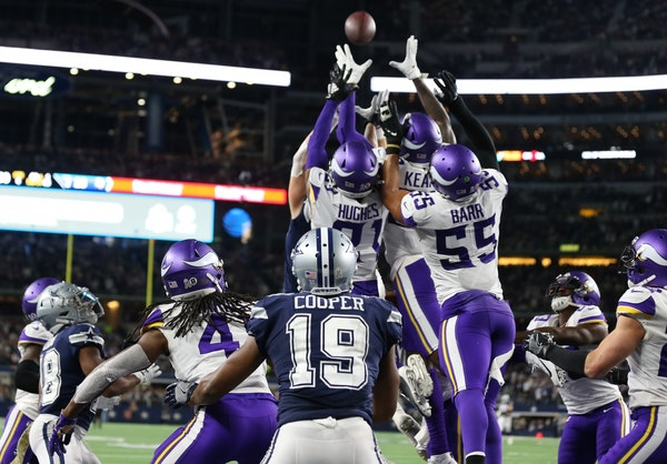 Podcast: Vikings positioned well at start of NFC playoff race