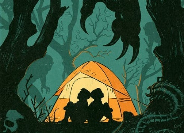 Halloween is near, but those frights pale next to some experiences in the outdoors