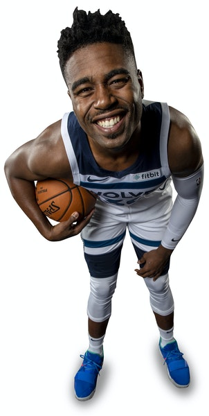 Rookie Kelan Martin made only four of his first 18 NBA shots, but he went 6-for-7 for 14 points in the Wolves' 112-102 win over the Jazz.