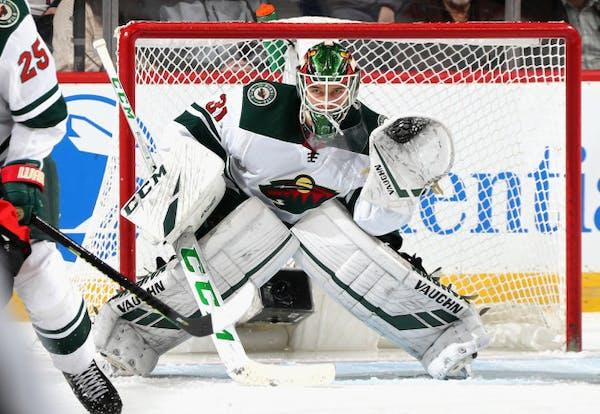 Postgame: Strong start helps Wild goalie Kahkonen win his NHL debut
