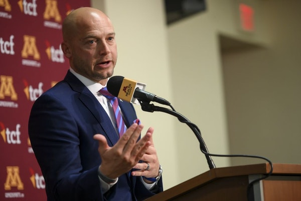 Gophers head coach P.J. Fleck spoke to the media minutes after signing a seven-year contract extension Tuesday afternoon.