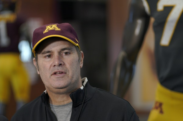 Kirk Ciarrocca came to the Gophers with head coach P.J. Fleck.