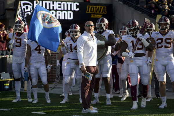 Gophers fall to No. 10 in College Football Playoff rankings after Iowa loss
