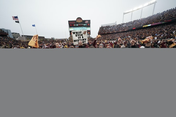 Souhan: Gophers look the part of a football team ready for the big stage