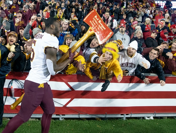 """P.J. Fleck's """"Axe-on-Tour"""" trips in Minnesota after winning last year aggravated some Badgers."""