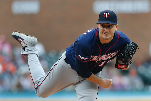 Jake Odorizzi doesn't appear likely to return to the Twins this season.