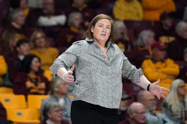 Gophers women's basketball coach Lindsay Whalen.
