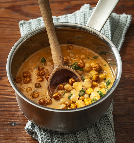Curried Coconut Chickpea Stew