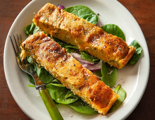Spoon bread dishes up a surprise