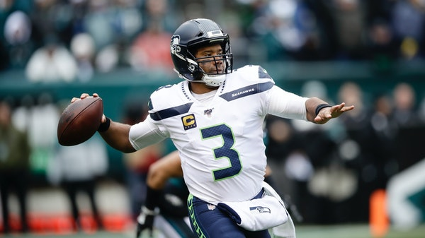Seahawks QB Russell Wilson rarely makes a mistake inside the 20-yard line, with a notable exception.