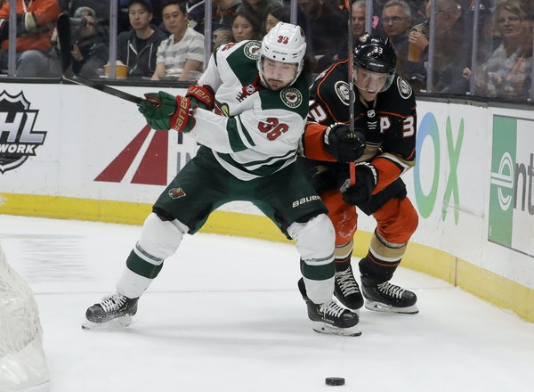 It all began in New York for Mats Zuccarello (36), who is now fighting his battles for the Wild.