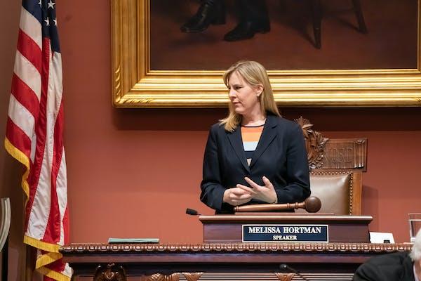 House Speaker Melissa Hortman, DFL-Brooklyn Park, is among Minnesota legislators visiting the West Bank and Israel.