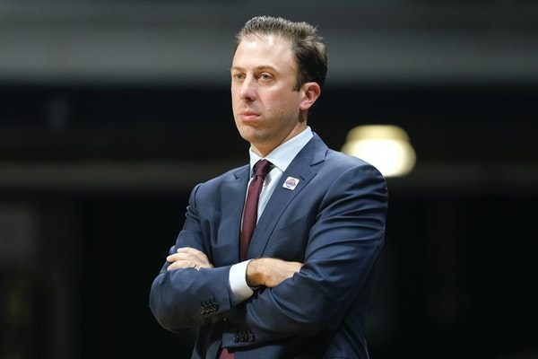 Richard Pitino's team is shooting far more often from three-point range.