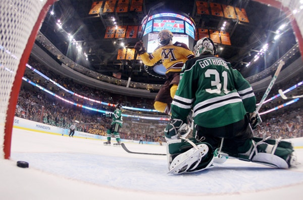 The storied history between the Gophers and North Dakota includes Justin Holl's goal with 0.6 seconds left in the 2014 NCAA semifinals that gave Minne