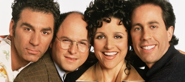 """""""Seinfeld"""" is available for free on Sony's Crackle service."""