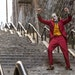 """Joaquin Phoenix's dance down the staircase in """"Joker""""has become instantly iconic."""